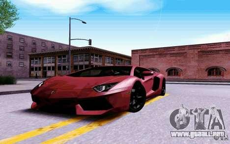 New Graphic by musha v4.0 para GTA San Andreas quinta pantalla