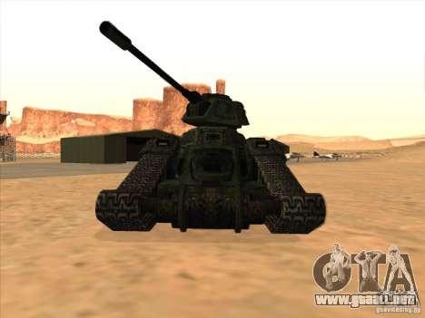 Tanque desde el juego TimeShift para GTA San Andreas left