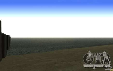 HD agua v2.0 para GTA San Andreas sucesivamente de pantalla