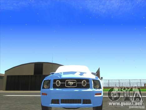 Ford Mustang Pony Edition para visión interna GTA San Andreas