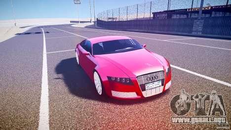 Audi Nuvollari Quattro para GTA 4 vista interior