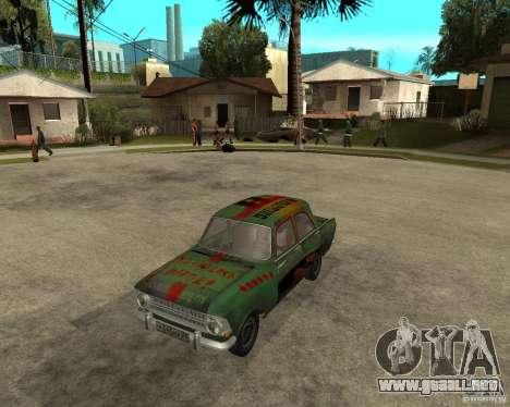 Bloodring Moskvich 412 para GTA San Andreas