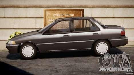 Mercury Tracer 1993 v1.0 para GTA 4 left