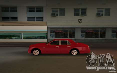 Bentley Arnage T 2005 para GTA Vice City visión correcta