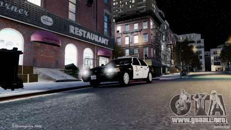 Ford Crown Victoria CVPI-K9 V6.9A-LAPD-ELS para GTA 4 vista lateral