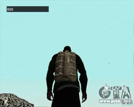 Black Ops Parachute para GTA San Andreas sucesivamente de pantalla