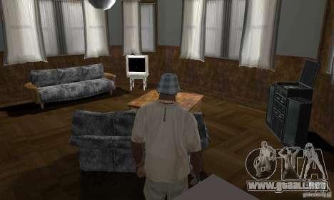 Nuevas casas de seguridad interiores para GTA San Andreas undécima de pantalla