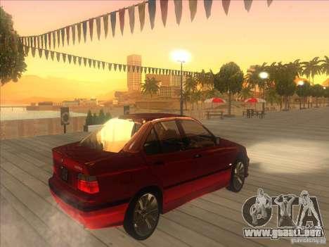 BMW E36 para la visión correcta GTA San Andreas