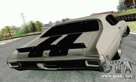 Chevrolet Chevelle 1970 para GTA San Andreas left
