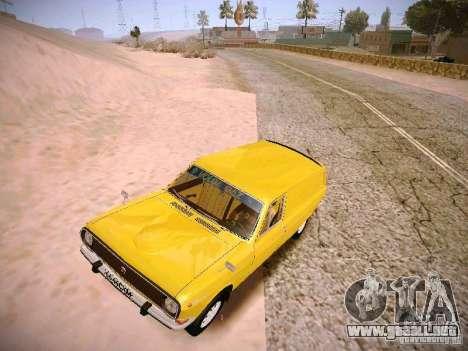 Volga GAZ-24 02 Van para GTA San Andreas left