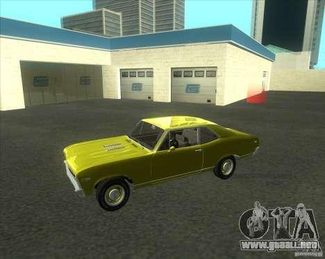Chevy Nova SS 1969 para GTA San Andreas