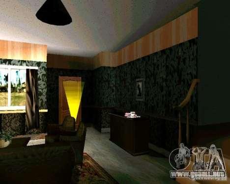 Nueva casa CJ v2.0 para GTA San Andreas segunda pantalla