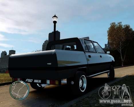FSO Polonez Analog 4wd para GTA 4 left