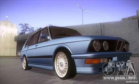 BMW E28 Touring para GTA San Andreas