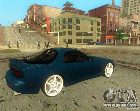 Mazda RX 7 para la visión correcta GTA San Andreas