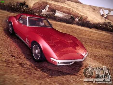 Chevrolet Corvette Stingray 1968 para GTA San Andreas