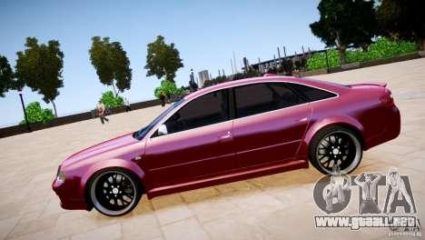 Audi RS6 para GTA 4 visión correcta