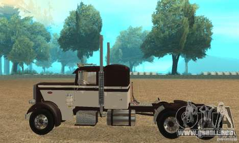 Peterbilt 359 Special 1967 para GTA San Andreas left