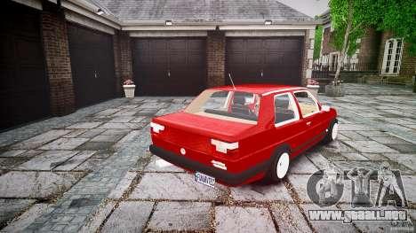 Volkswagen Jetta MKII VR6 para GTA 4 vista lateral