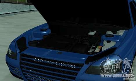Lada Priora 2012 para visión interna GTA San Andreas