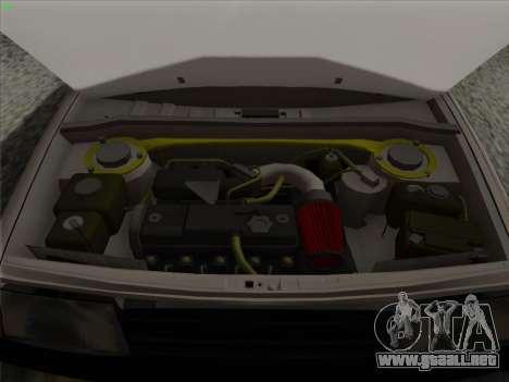 VAZ 21099 drenaje para la vista superior GTA San Andreas