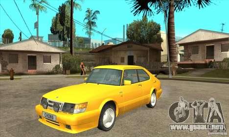 Saab 900 Turbo 1989 v.1.2 para GTA San Andreas left