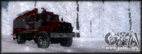 Ural 43206 AC 3.0-40 para la visión correcta GTA San Andreas