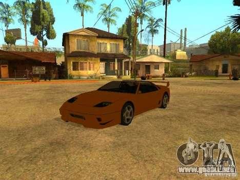 Desovar coches para GTA San Andreas quinta pantalla