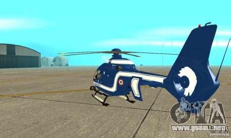 EC-135 Gendarmerie para la visión correcta GTA San Andreas