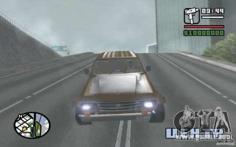 Toyota Land Cruiser 70 para la visión correcta GTA San Andreas