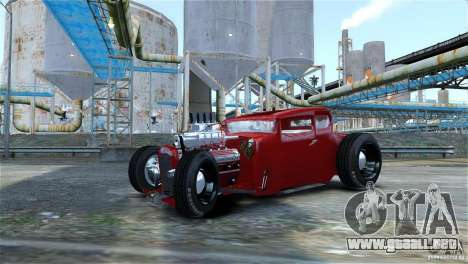 Smith 34 Hot-Rod Restyling para GTA 4 vista hacia atrás