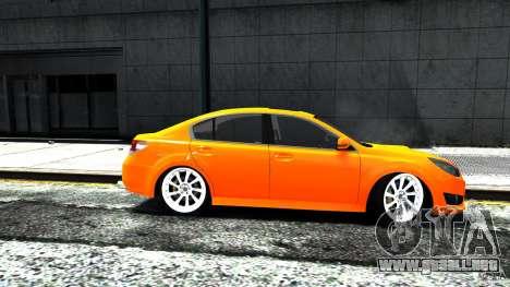 Subaru Legacy B4 para GTA 4 Vista posterior izquierda