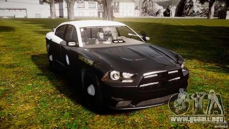 Dodge Charger 2012 Florida Highway Patrol [ELS] para GTA 4 visión correcta