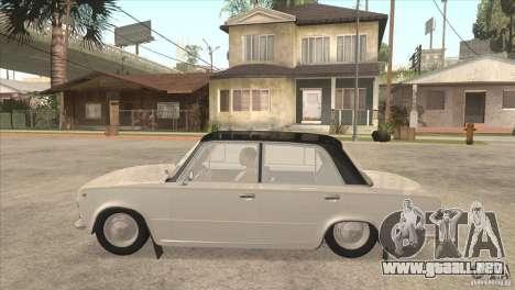 VAZ 2101 Dag para la visión correcta GTA San Andreas