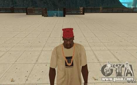 Bandana Maryshuana rojo para GTA San Andreas