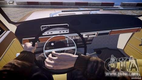 VAZ 2101 Stock v2.0 para GTA 4 vista hacia atrás