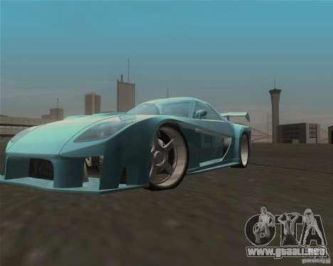 Mazda RX-7 Veilside Fortune para visión interna GTA San Andreas