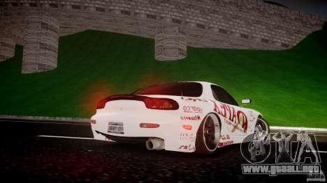Mazda RX7 FD Apex Imamura para GTA 4 vista superior