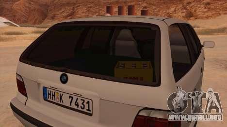 BMW M3 E36 Touring para visión interna GTA San Andreas