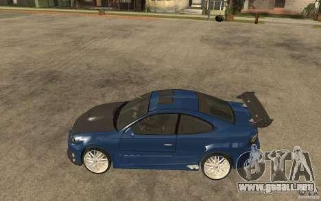 Vauxhall Monaro para GTA San Andreas left