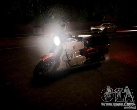 Sunrise 3 Beta m-01 para GTA 4 vista hacia atrás