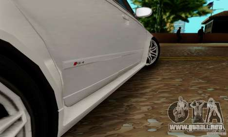 Audi RS4 2007 para vista inferior GTA San Andreas