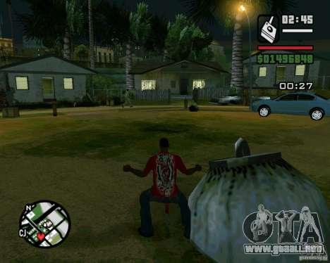 Bomba para GTA San Andreas segunda pantalla