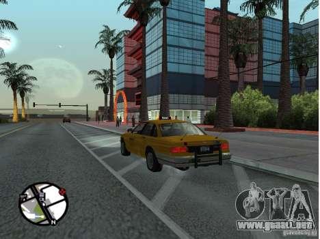 Un taxi de Gta IV para GTA San Andreas left