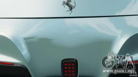 Ferrari F12 Berlinetta 2013 [EPM] para GTA 4 vista desde abajo