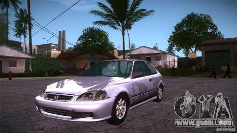 Honda Civic Tuneable para GTA San Andreas