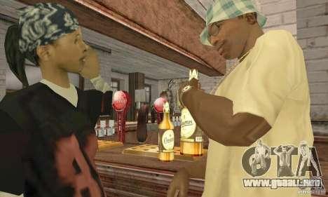 Cerveza SLAVUTYCH para GTA San Andreas tercera pantalla