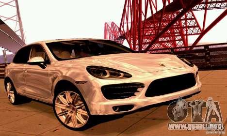 Porsche Cayenne Turbo 958 2011 para GTA San Andreas