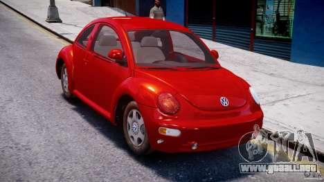 Volkswagen New Beetle 2003 para GTA 4 visión correcta