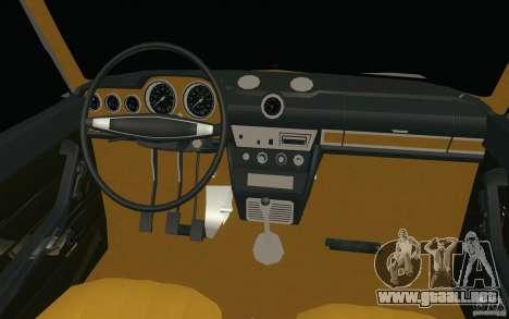 Lada 2106 Vaz para la vista superior GTA San Andreas